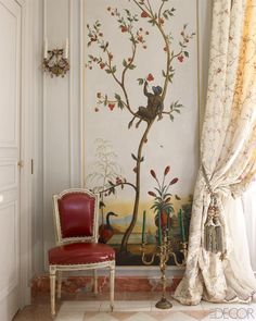 I have always wanted an elegant jungle themed room.