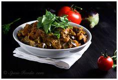 Indian Eggplant Curry, Vegan, Spicie Foodie