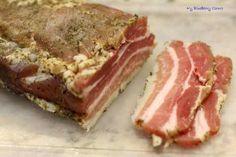 My Blueberry Corner Boczek surowo dojrzewający wędliny Cuban Recipes, Beef Recipes, Recipies, Duck Pate, Mojo Pork, Cuban Pork, Pork Shoulder Roast, Food Lab, Essen