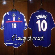 France Home Zidane France Jersey, Football, Sports, Soccer, Hs Sports, Futbol, American Football, Sport, Soccer Ball