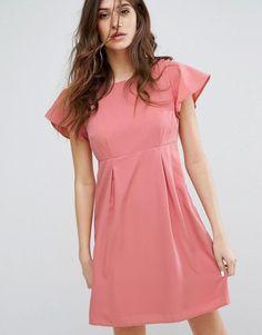 223809f4ba9 Shop Madam Rage Chambray Cut-Out Dress at ASOS.