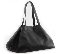 black niklaas leather tote bag by atelier marchal  exclusive in US at roztayger.com