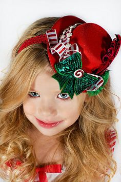 Boutique Mini Top Hat Christmas Collection by girlybaby on Etsy, $28.00