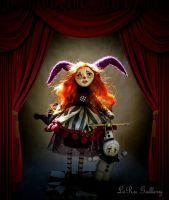 Cabaret of Lost Nights. Puppet show. LeRu Gallery. by LeRuGallery