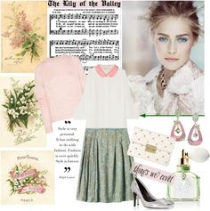 """The Lily of the Valley"" by sophisty ❤ liked on Polyvore"