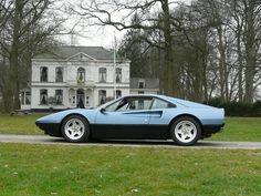 blue ferrari 308 | Ferrari 308 GTB Vetroresina