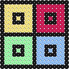 Hama bead design 17x17 - by Villi.Ingi
