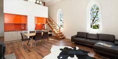 Converting Churches into Modern Homes - Laggan Church | www.bocadolobo.com…