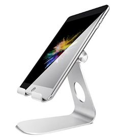 Tablet Stand Lamicall Adjustable iPad Stand : Desktop Stand Holder Dock for iPad Pro / / iPad mini 2 3 4 iPad Air Air 2 iPhone 7 Plus Plus Nintendo Switch Samsung Galaxy Tab Fire Tablet Accessories Desk other Tablets Silver Tablet Holder, Tablet Stand, Phone Holder, Phone Stand, Ipad Mini 2, Iphone 7 Plus, Fire Tablet, Ipad Tablet, Ipad Accessories