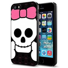 Pink Skull Bow collection #5, Cool iPhone 5 5s Smartphone Case Cover Collector iphone Black Phoneaholic http://www.amazon.com/dp/B00W9ZZHM0/ref=cm_sw_r_pi_dp_FELpvb0N4GK87
