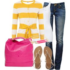 Yellow and Pink, created by lexis2584