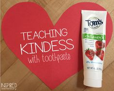 """Have you tried """"The Toothpaste Lesson?"""" Such a great reminder for students this time of year! Bullying Activities, Bullying Lessons, Kindness Activities, Counseling Activities, School Counseling, Day Care Activities, Kindness Projects, Educational Activities, Friendship Lessons"""