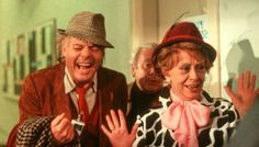 Ginger & Fred, a Federico Fellini's film. Set design: Dante Ferretti. 1986