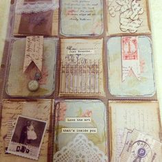 Pocket letter #shabby chic