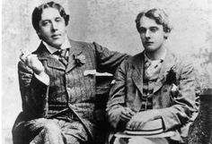 Oscar with a young man I believe is the infamous Bosie.