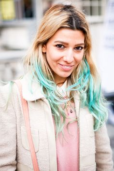 pastel hair//want to do this in summer