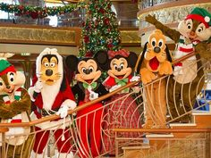 Disney provides a very magical experience all year long and especially during Christmas. Now lets combine that with  Magical Events Travel and you have a very merry magical cruise onboard Disney's Cruise ships. Book today at www.magicaleventstravel.com or call us toll free at 888.992.9592