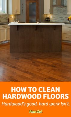 When your floors smell as dull as they look, use Pine-Sol® Mandarin Sunrise™ Multi-Surface Cleaner to leave them smooth, shiny and smelling great. Here's how to clean your hardwood floors.
