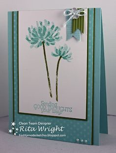 Rita's Creations: Stampin' Up! Too Kind for FMS