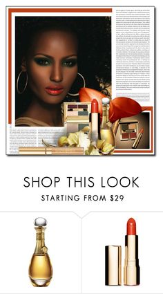 """""""AUTUMN BEAUTY IN SPRING"""" by littlefeather1 ❤ liked on Polyvore featuring beauty, Oris, Fashion Fair, Christian Dior, Clarins, Yves Saint Laurent, topsets, Beauty, polyvoreeditorial and makeuptips"""