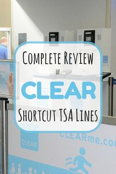 CLEAR Airport Security Review: Is this TSA Shortcut Right for Your Family? - Hate airport security lines? Find out whether the cut-the-line service from CLEAR is a good value for family travel.