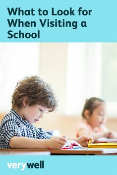 Finding the right school for your child can be stressful. Check out this list of questions to ask when visiting potential schools, and remember, you know your child's needs best!