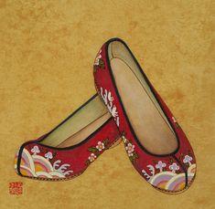 사단법인 한국민화진흥협회 Korean Traditional, Traditional Art, Traditional Outfits, Cinderella Original, Art And Fear, Korean Crafts, Korean Painting, Geisha Art, Korean Hanbok