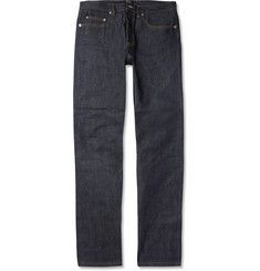 A.P.C.New Standard Straight-Fit Dry Selvedge Denim Jeans MR PORTER