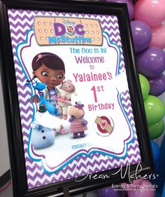 Doc Mc Stuffins Birthday Party Ideas | Photo 6 of 31
