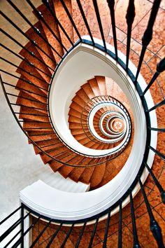 Crazy Nine by Christian Öser, via 500px  #steps #spiral