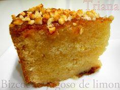 Bizcocho jugoso de Limón Sweet Recipes, Cake Recipes, Cooking Time, Cooking Recipes, Macaroni And Cheese, Bakery, Muffin, French Toast, Crack Crackers