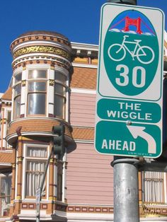 Five Bike Routes Every San Francisco Rider Should Know: • The Wiggle: Flattest East/West route & channel to Golden Gate Park, the Sunset, the Richmond, NOPA • Valencia Street: If you see someone biking on Dolores Street or Mission Street it's likely because they just don't know about Valencia. • Polk Street: Flattest North/South route in the city. •17th Street: This is the best route to take from the Castro to the Dogpatch •Fell & Oak Street