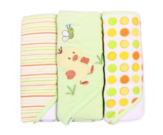 Spasilk® Baby Stripe/Duck Applique/Dots Terry Hooded Towel in Green Baby Towel, Towel Set, Happy Baby, Happy Kids, Towel Animals, Baby Bath Time, Embroidered Towels, Baby Warmer, Washing Clothes