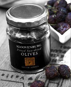 Kloovenburg Wine Farm in Riebeeck Kasteel really good black olives in a blackberry dressing