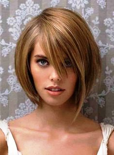 A haircut chosen correctly achieved transform the look and style to a woman, for this reason we will review the types of Short Hairstyles For Round Face Women or hairstyles according to type and face shape.  Before the time comes to choose which will be the haircut that suits us, we must know that it is very important to consider the shape of your face.