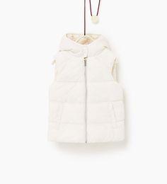 ZARA - KIDS - Basic fleece waistcoat