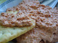 Paté de chorizo Ver receta: http://www.mis-recetas.org/recetas/99171-pate-de-chorizo