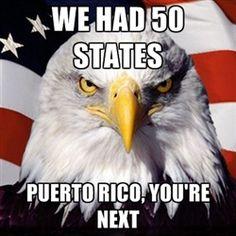 Puerto Rico, you're next