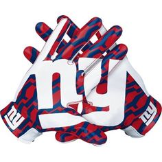 Nike New York Giants Vapor Fly Team Authentic Series Gloves