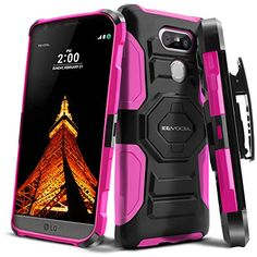 Evocel® LG G5 [New Generation] Rugged Holster Dual Layer ... https://www.amazon.com/dp/B01D0IXGZE/ref=cm_sw_r_pi_dp_usdBxbK52ZK0F