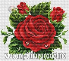 1 million+ Stunning Free Images to Use Anywhere Beaded Flowers Patterns, Bead Loom Patterns, Cross Stitching, Cross Stitch Embroidery, Hand Embroidery, Cross Stitch Rose, Cross Stitch Flowers, Cross Stitch Designs, Cross Stitch Patterns