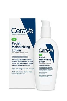 The Best Moisturizers For Your Skin Type & Budget #refinery29  http://www.refinery29.com/how-to-choose-moisturizer#slide-4  Dry: Budget-FriendlyThis affordable moisturizer from CeraVe goes on smooth without weighing down the skin. It's a great nighttime lotion, although it also comes in an a.m. option.