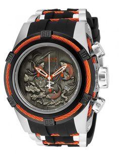 Invicta 14193 Men's Reserve Bolt Zeus Koi Swiss Made Quartz Chronograph Watch