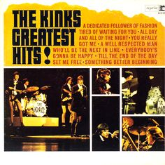 """""""The Kinks Greatest Hits!"""" (1966, Reprise).  Contains """"A Dedicated Follower Of Fashion."""""""