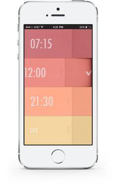 pinterest.com/fra411 #user  #interface #UI - Wake up in style · Rick Waalders · Product Designer & Developer
