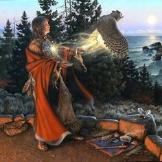 Celebrating and Respecting Native American Traditions for Women Through Full Moon Ceremonies - One Vibration Native American Paintings, Native American Wisdom, Native American History, Native American Indians, Indian Paintings, Arte Latina, Art Visionnaire, American Indian Art, Animal Totems