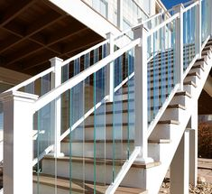 Open up your view with our PURE VIEW® Glass Balcony Railing. Choose from full glass panels or glass balusters. Learn more. #glasshandrail #glassbalcony #glassdeckrailing #decking #deckideas #outdoorliving #backyardinspiration #deckstairs #homeimprovement #glassbalustradeoutdoor Glass Railing System, Open Up, Innovation, Deck, Stairs, Pure Products, Easy, Home Decor, Stairway