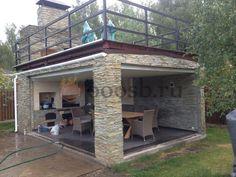 Pergola Ideas For Patio Info: 7835948717 Backyard Pavilion, Backyard Patio Designs, Pergola Patio, Backyard Landscaping, Pergola Kits, Outdoor Kitchen Bars, Backyard Kitchen, Outdoor Kitchen Design, Outdoor Rooms