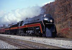 NW 611 Norfolk & Western Steam 4-8-4 at Oakvale, West Virginia by Sid Vaught