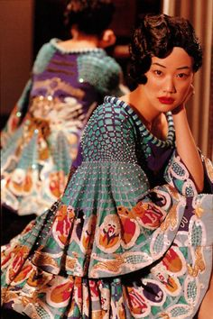 Inspiration for an outfit or a room with so much color and texture in just one garment. Fabulous patterns.